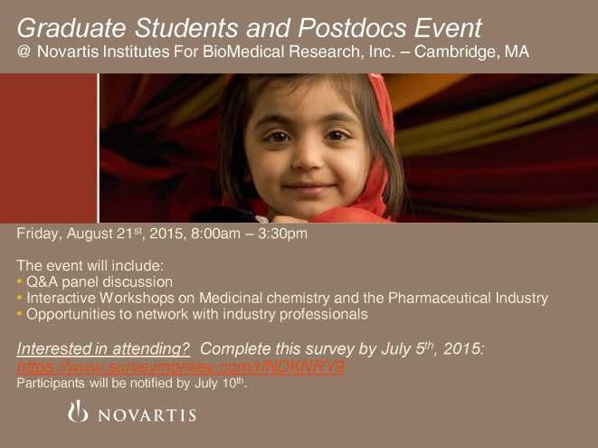 Novartis ACS 2015 Event