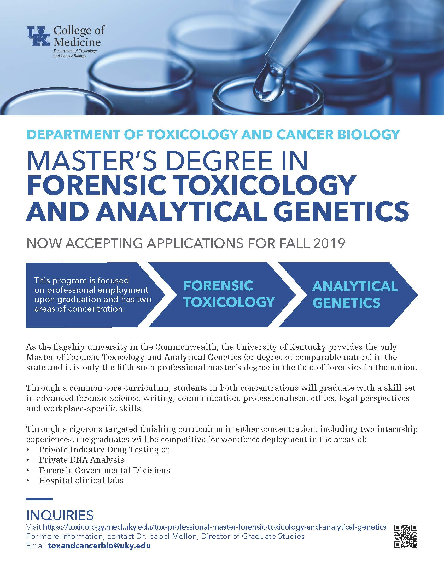 Master S In Forensic Toxicology And Analytical Genetic Cwru Chemistry Opportunities Blog